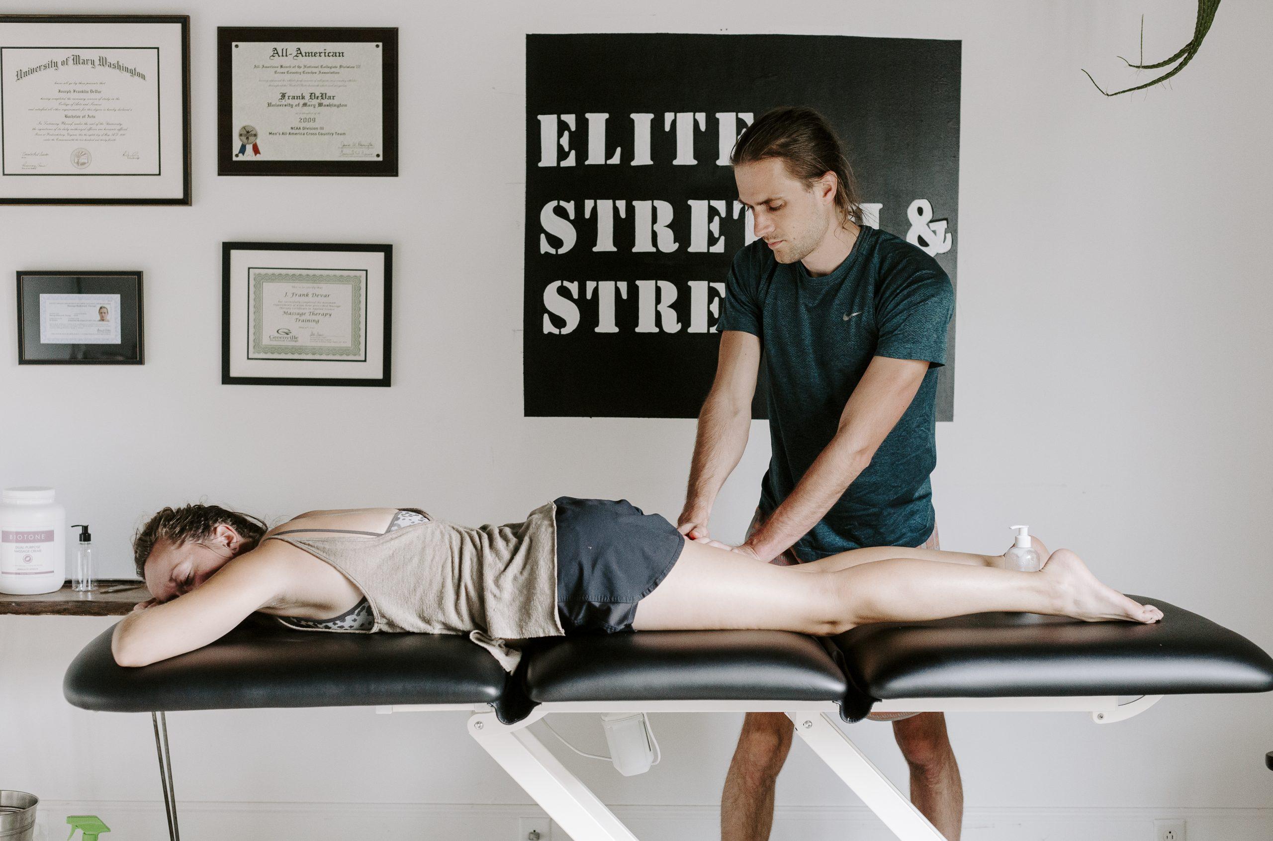 Julie Rotramel Sports Massage at ESS